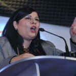 """عبير موسي تدعو """"الباجي"""" لاصدار مبادرة تشريعية تُجرّم إهانة بورقيبة"""