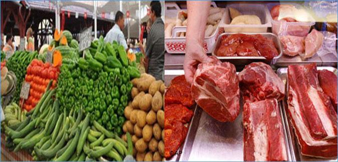 بالأرقام : أطنان من البيض والغلال والخضر واللحوم لرمضان