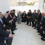 صور: رئيس الجمهورية في منزل الفقيدة ميّة الجريبي