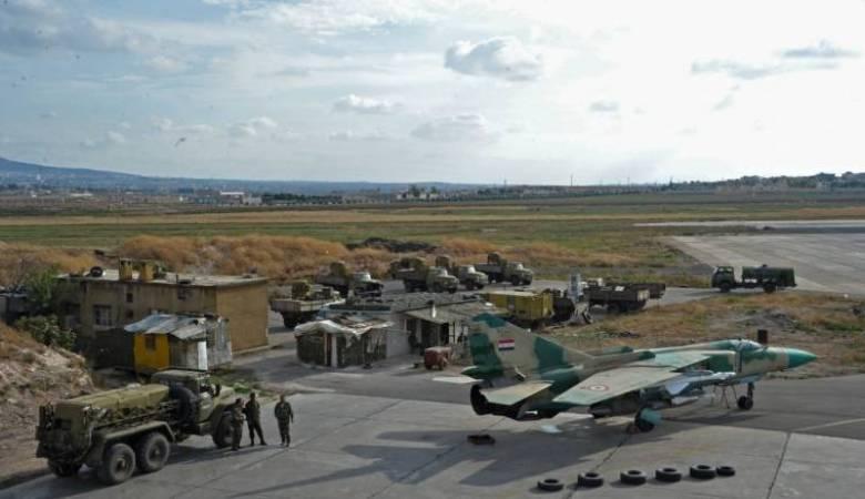 سوريا: قصف صاروخي على مطار حمص والبنتاغون يتبرأ