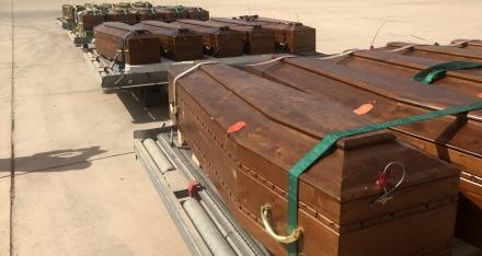 بعد عامين: ليبيا تُعيد رُفات 20 مصريّا