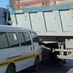 سيدي بوزيد: 7 مُصابين في اصطدام شاحنة بسيّارة