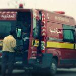 في حادث مرور بمنزل بوزيان: مقتل إمرأة وإصابة زوجها وطفليها