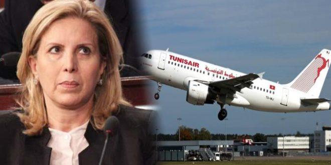 """حادثة الطائرة : """"تونيسار"""" تُدافع عن سلمى اللومي وتُعلن عن فتح تحقيق"""