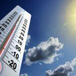 طقس اليوم: درجات الحرارة تتراوح بين 30 و40 درجة