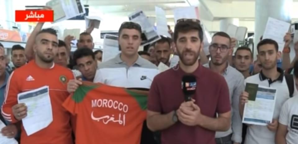 فيديو: قناة جزائرية تتّهم تونس باحتجاز 70 مغربيا !