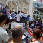 صور/ العاصمة: وقفة احتجاجية تضامنا مع عائلات ضحايا كارثة قرقنة