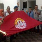 أعوان وموظّفو المحكمة الإدارية يحتجّون