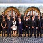قبل التحليق إلى روسيا : لاعبو المنتخب في قصر قرطاج ( صور)
