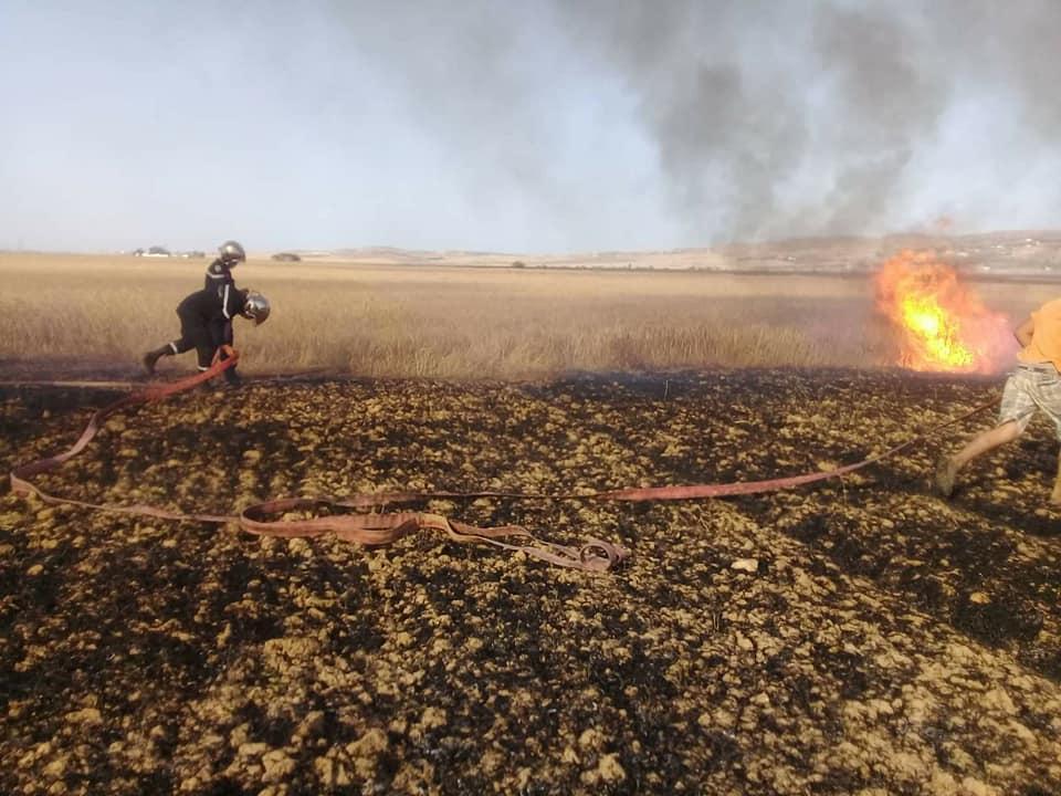 اتحاد الفلاحة بجندوبة: توزيع قوارير إطفاء الحرائق على الفلاّحين