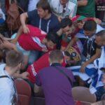 مونديال روسيا: جماهير المغرب تُهاجم مُشجّعين رفعوا علم الكيان الصهيوني (فيديو)