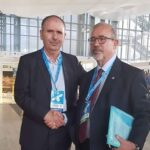 في روما : الطبّوبي يناقش مع أمين عام النقابات الإيطالية موضوع الهجرة السريّة