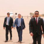 بالصور: الجهيناوي في زيارة لمدينة طبرق الليبية