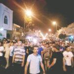 """تطاوين: تجدّد الاحتجاجات الليلية.. وجنازة رمزية لضحايا """"قارب الموت"""""""