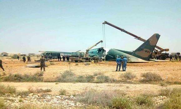 الجزائر: جرحى في انشطار طائرة عسكرية