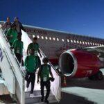 في روسيا: حريق بطائرة المنتخب السعودي