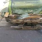 متابعة/ خسائر كبيرة في اصطدام بين مترو وشاحنة