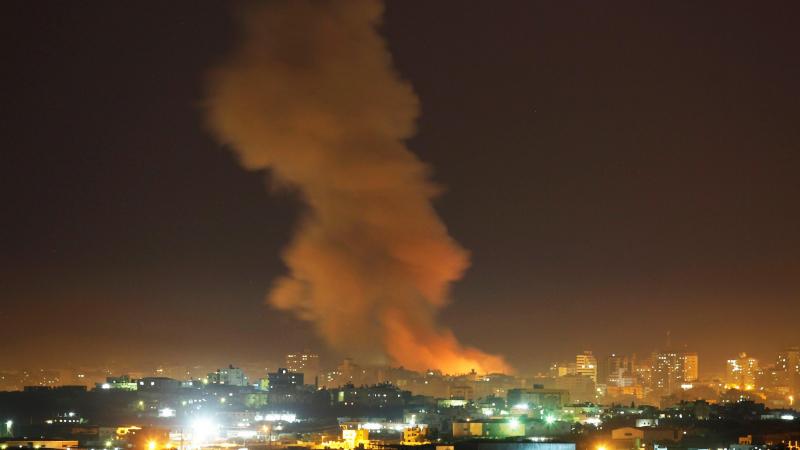 الجيش الاسرائيلي يقصف 25 هدفا في غزّة