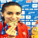 إيناس البوبكري تهدي تونس أوّل ميدالية ذهبية في الألعاب المتوسطية
