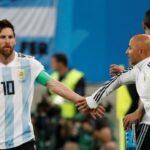 مدرّب الأرجنتين يطلب الإذن من ميسي لإشراك أغويرو