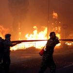 بسبب موجة حرّ قياسية: العاصمة اليونانية تحترق