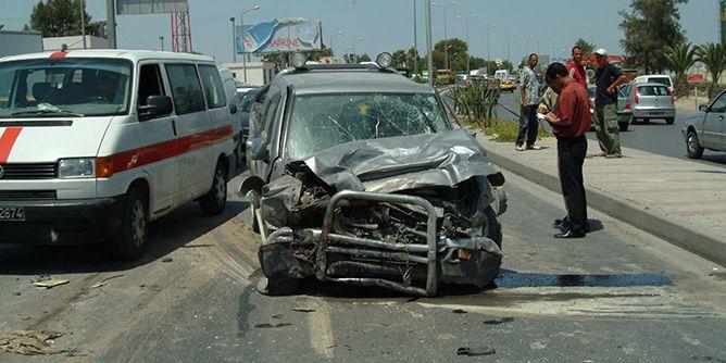 تراجع حصيلة ضحايا حوادث المرور خلال شهر جوان