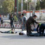 14 قتيلا و50 جريحا في تفجير انتحاري بمطار كابول