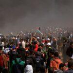 """""""مسيرة العودة"""" بغزّة: استشهاد 4 فلسطينيين وإصابة 120 آخرين"""