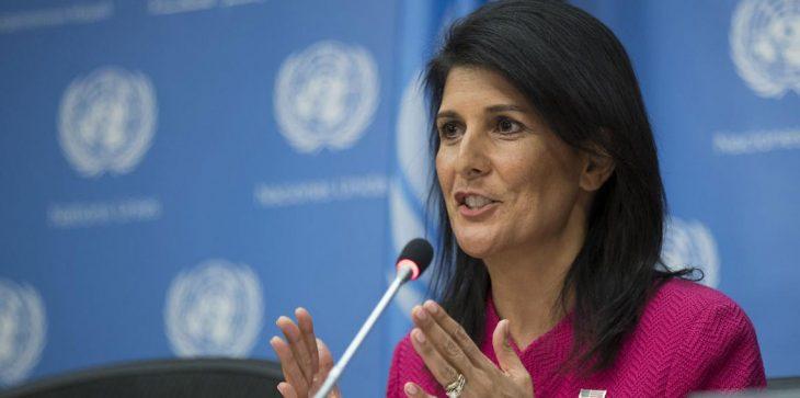 منها تونس: سفيرة أمريكا بالأمم المتحدة تسخر من دول عربية