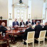 انطلاق اجتماع مجلس الأمن القومي