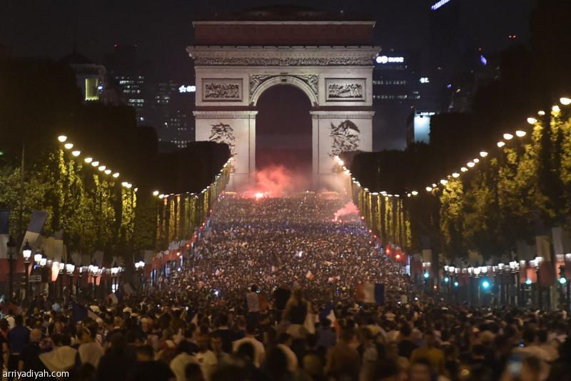ذعر في صفوف الجماهير الفرنسية بعد الترشّح لنهائي المونديال