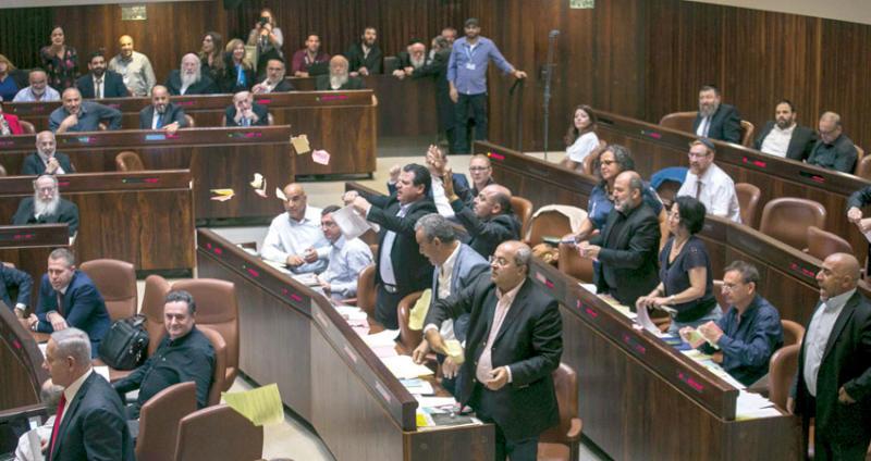 """تونس تُدين """"بشدّة"""" إقرار الكنيست الإسرائيلي قانون """"قومية الدّولة"""""""