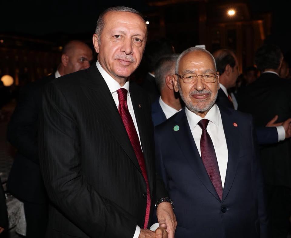 صور: الغنوشي يُشارك في فعاليات تنصيب أردوغان
