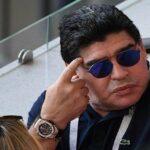 """مارادونا: حكم مباراة إنقلترا وكولومبيا """"لص"""""""