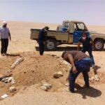 ليبيا : العثور على جثث مصريين في الصحراء (صور)
