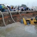 بعد انفجار قناة الزهروني: انطلاق تزويد ولاية بن عروس بصهاريج الماء