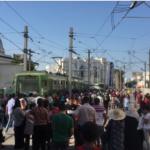 فيديو: تدخّل الوحدات الأمنية بعد إضراب فُجئي لسُوّاق المترو