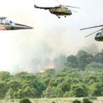 وزارة الدفاع: القضاء على عدد من الارهابيين وتدمير مواقع تمركزهم