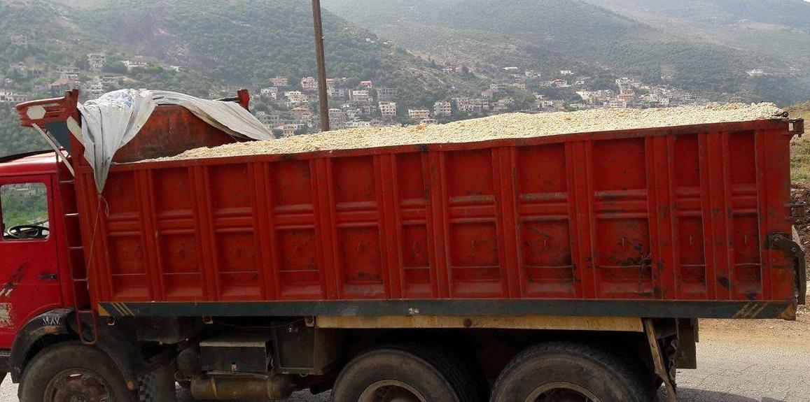 سيدي بوزيد: إيقاف سائق شاحنة حاول إرشاء أعوان الحرس وحجز 18 طنّا من البقول