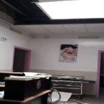مستشفى فطومة بورقيبة : إصابة قابلة في انهيار جزء من سقف قسم النساء والتوليد