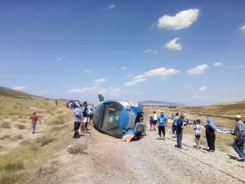 حادث قطار الدهماني : نقل 29 مسافرا إلى المستشفيات