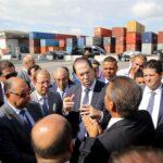 الشاهد يُعلن عن 5 قرارات لتحسين خدمات ميناء رادس