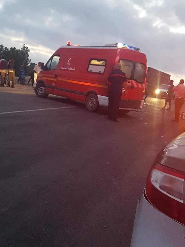 سبيطلة : نقل 18 عاملة فلاحية إلى المستشفى إثر حادث مرور