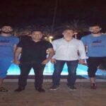 ثنائي المنتخب يزور بعثة الترجي في الاسكندرية