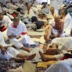 بعثة الحج: المرشدون الدينيون أمّنوا الدعاء والذّكر للحجيج أثناء العاصفة