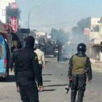 احتجاجات بن قردان: إصابة رئيس المنطقة على مستوى الرأس