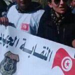 """سيدي بوزيد: أمنيون يحتجّون بسبب """"النقل التعسفية"""""""