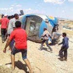 الشركة التونسية للسكك الحديدية: إنقلاب قطار الدهماني ''خطأ متعمد''