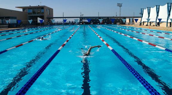 3 ميداليات إضافية لتونس في البطولة الافريقية للسباحة