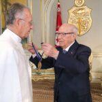رئيس الجمهورية يُكرّم عياض بن عاشور